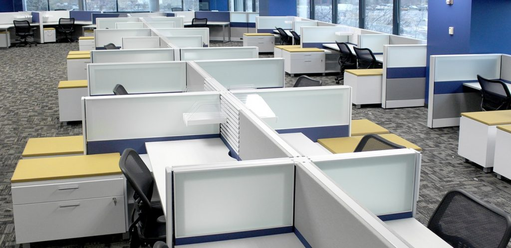 Herman Miller Ethospace Call Center Style Stations
