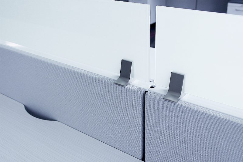 Herman Miller Ethospace Frosted Glass Panels