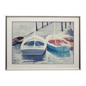Dockside Lithograph