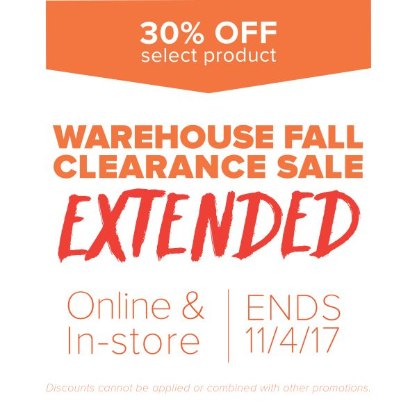 Shop the extended fall sale!