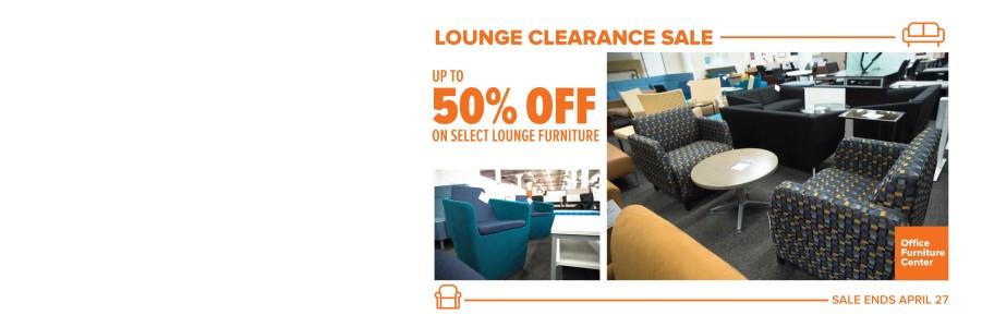 Lounge Clearance Sale