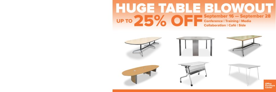 Huge Table Blowout