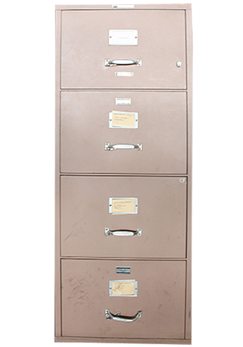 Victor Firemaster 4H 20W Vertical Fire File (Tan) Rotate Image