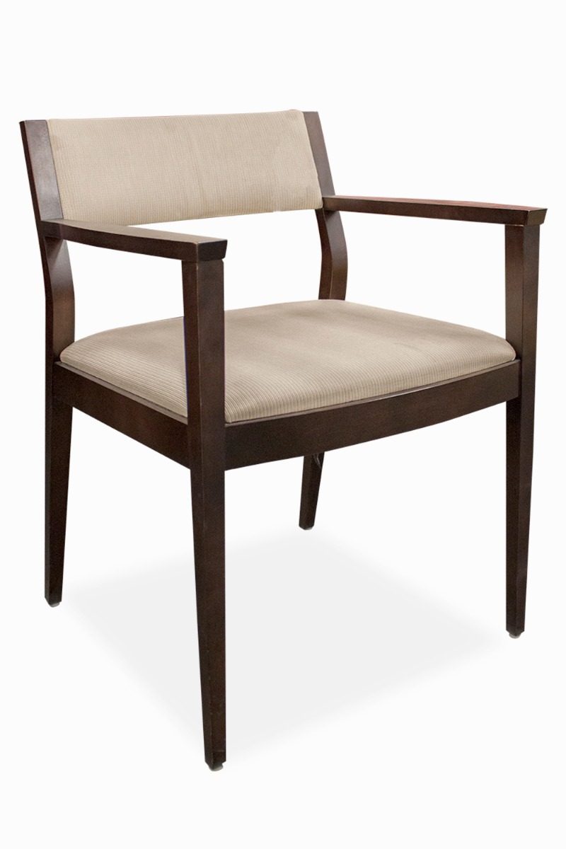 Hbf Wood Side Chair Cream