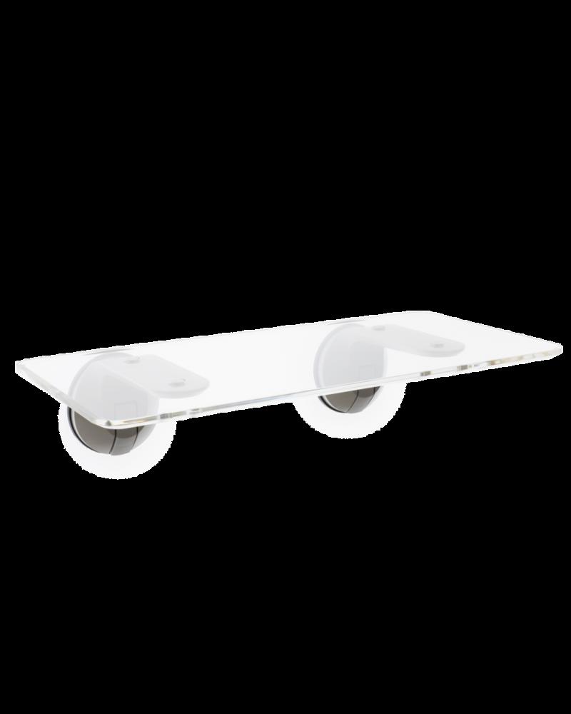 DeskView Window-Mounted Standing Desk (Clear)