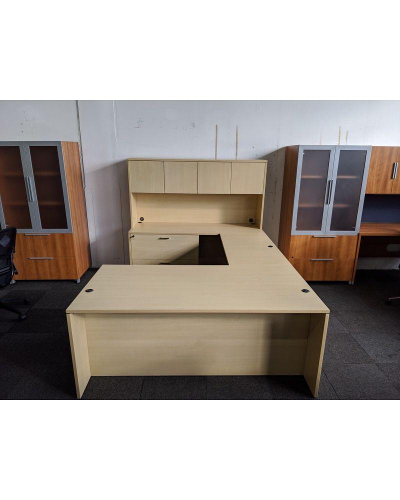 Pre-owned Cherryman U-shaped desk