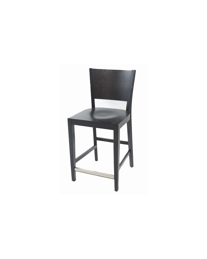 Aceray Cafe Height Wood Side (Black)