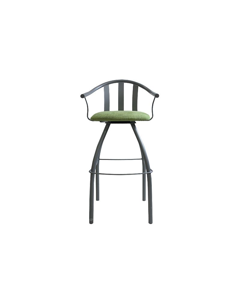 Gibo Creations Gatlin Bar-Height Chair (Lime Green)
