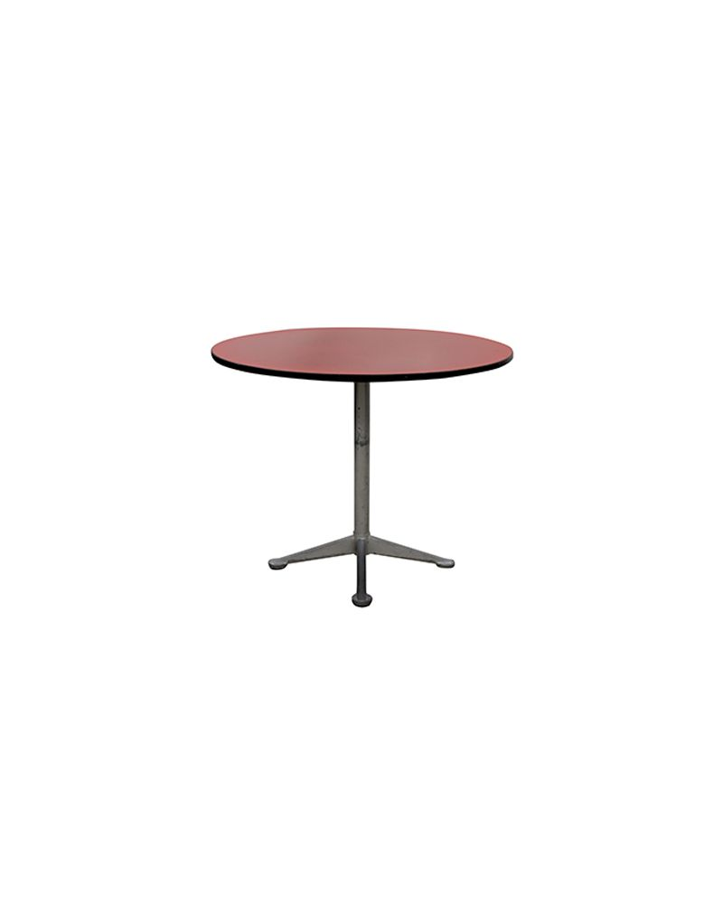 3' Vecta Laminate Round Cafe (Red)