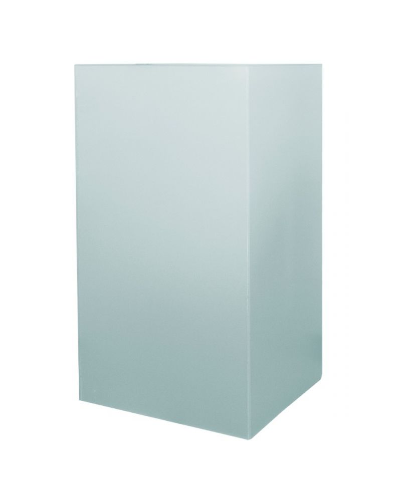 """20""""W Bar-Height Cube Table (Frosted Green)"""