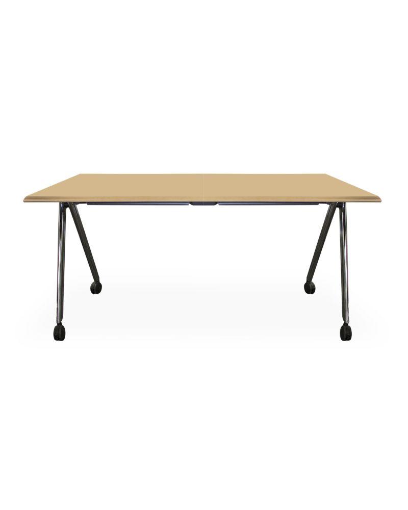 5' Versteel Paces Folding Training Table (Maple Veneer)