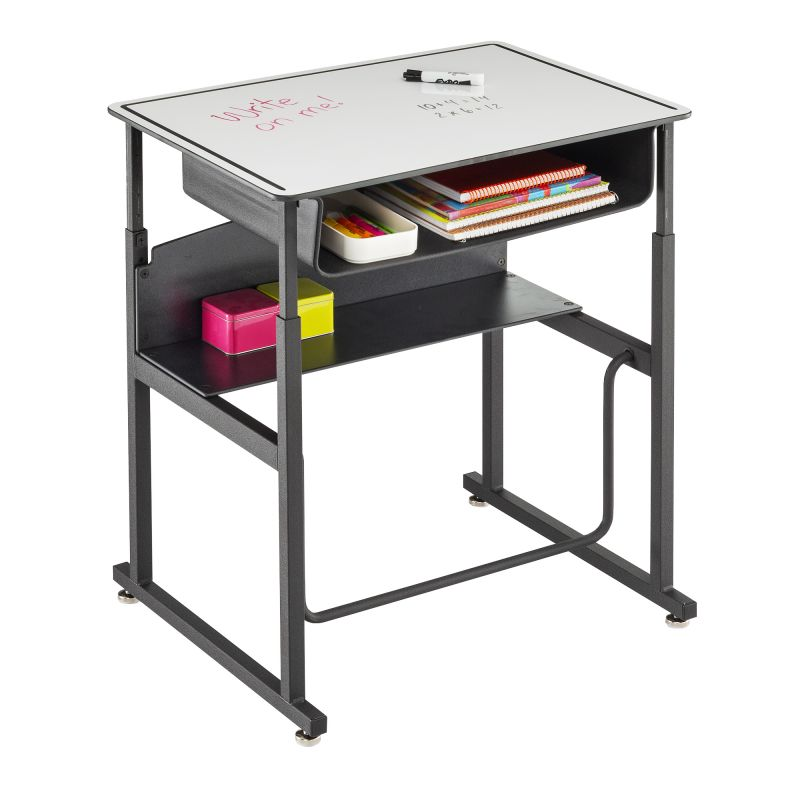 Safco AlphaBetter Adjustable Height Dry Erase Top Stand-Up Desk