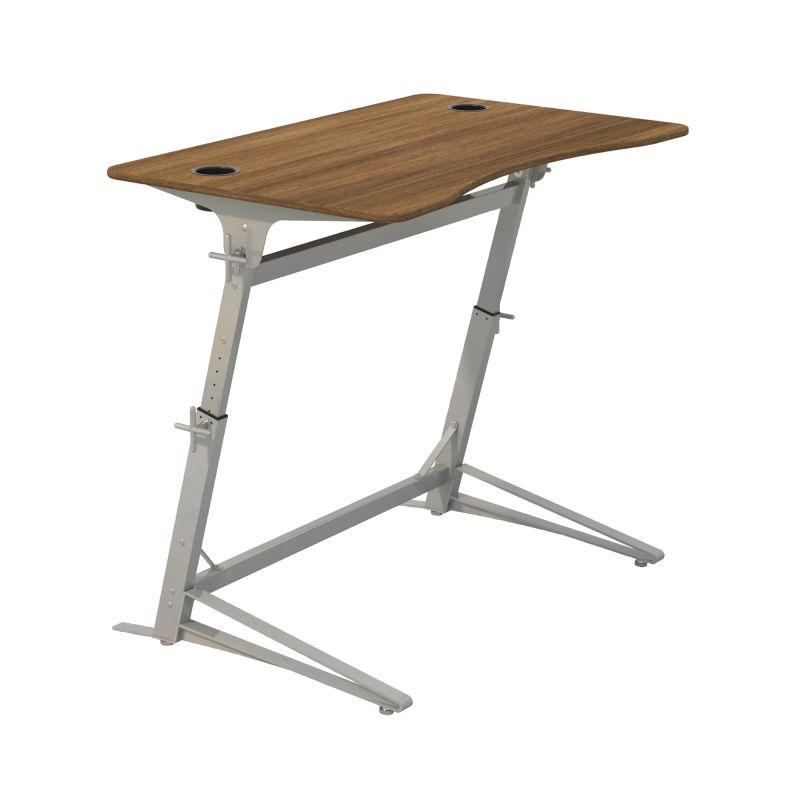 Safco Verve Standing Desk (Walnut)