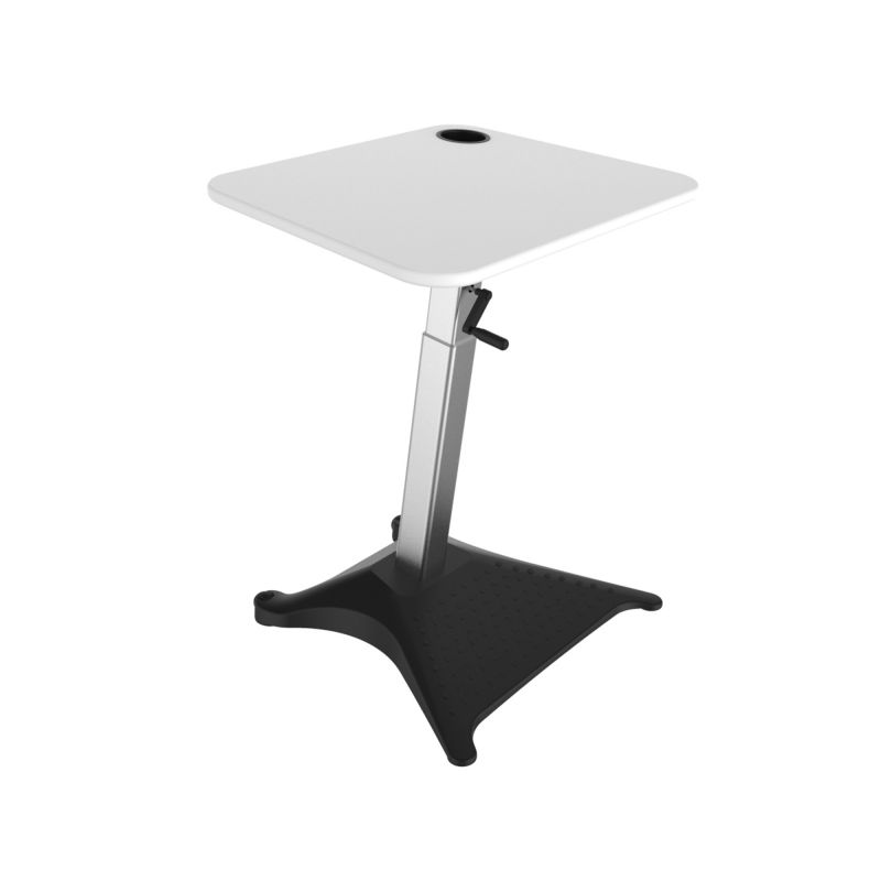 Safco Brio Adjustable Height Standing Desk (White)