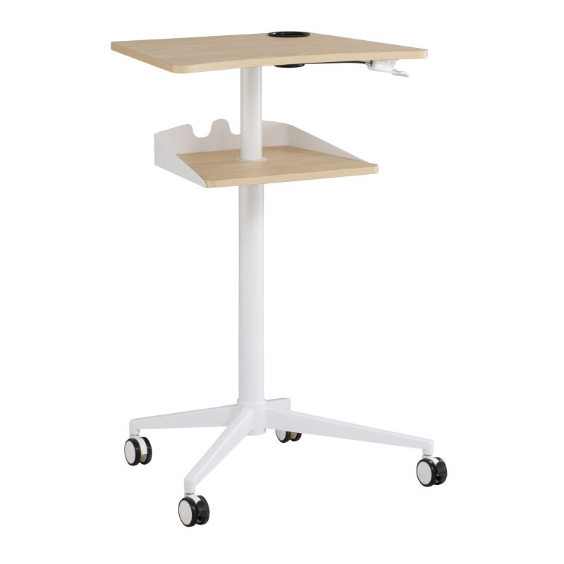 Safco Vum Mobile Workstation (Natural)