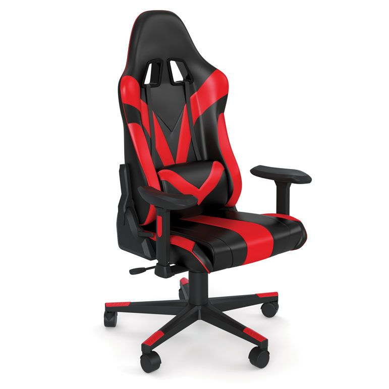 Office Source Renegade Raider High Back Gaming Chair with Black Frame
