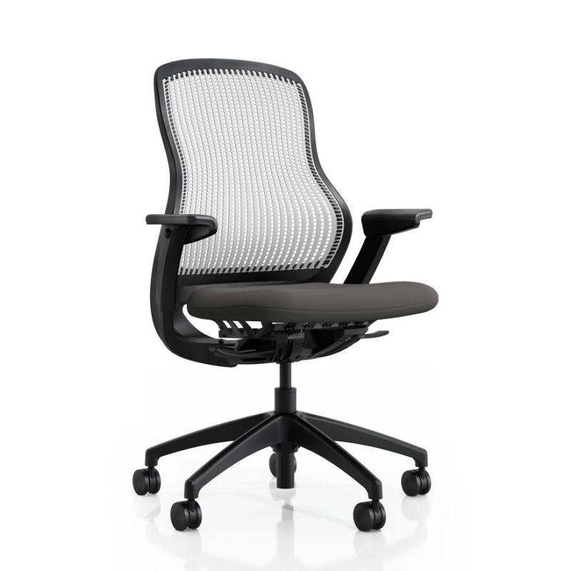 Knoll ReGeneration Task Chair (Pebble / Storm)