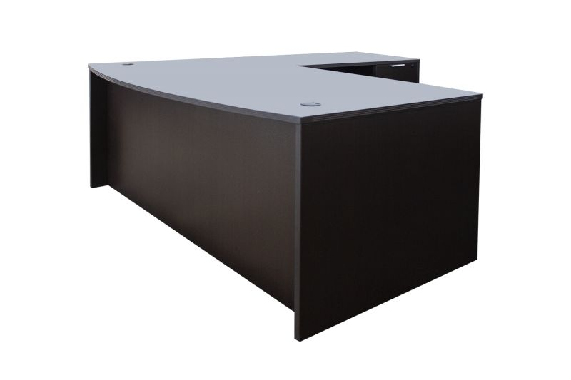 NEW i5 Industries L Shaped Double Ped Desk