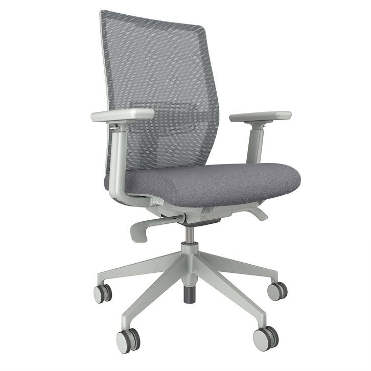 AIS Devens Grey Task Chair