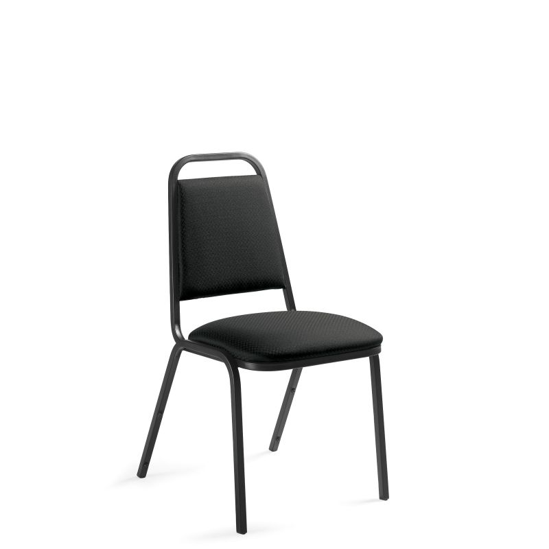 Offices to Go Armless Rounded Back Fabric Stack Chair