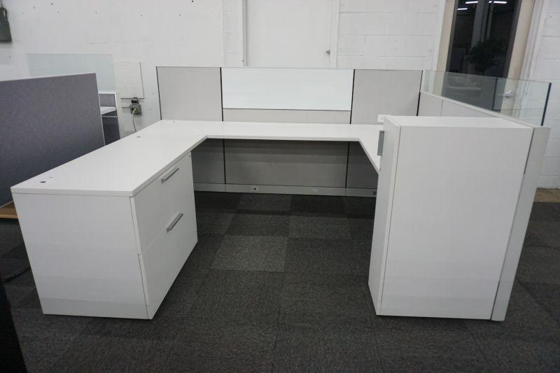 "Certified Pre-Owned Allsteel Terrace Workstation (6'Dx 8'W x 42/50""H)"