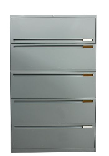 Allsteel 5H 36W Lateral File (Smooth Light Grey)