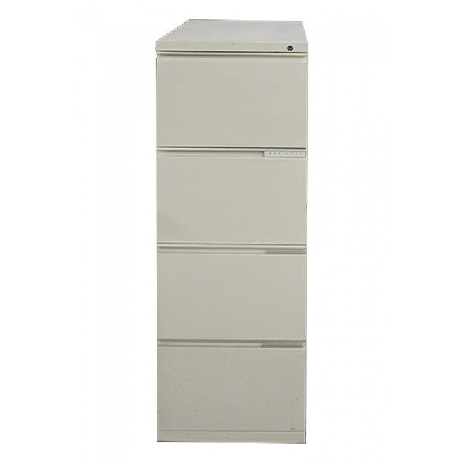 Meridian 4H Vertical Lateral File (Textured Soft White)