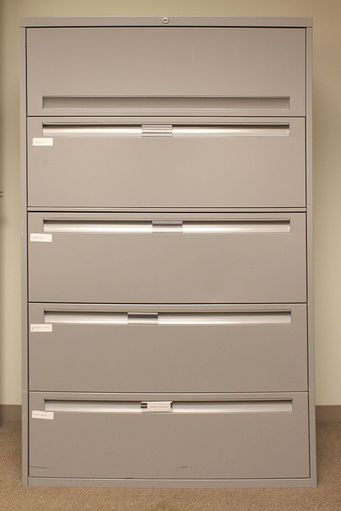 Steelcase 200 5H 36W Lateral File (Tungsten Grey)