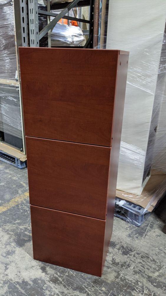 Cherryman Amber Wall-Mounted Hutch and Tackboard (Mocha Cherry)