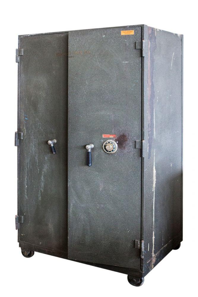 Mosler Fire Proof Combination Safe (Dark Grey)