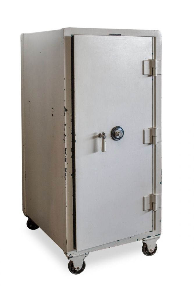 Meilink Steel Fire Proof Combination Safe (White)
