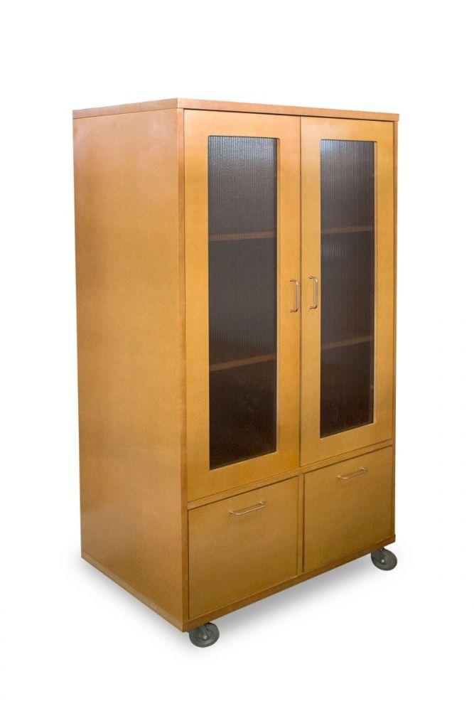 Mobile Storage Cabinet (Maple)