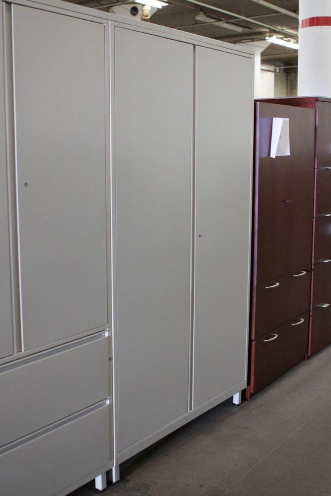 "42""W Herman Miller Wadrobe Cabinet (Cream)"