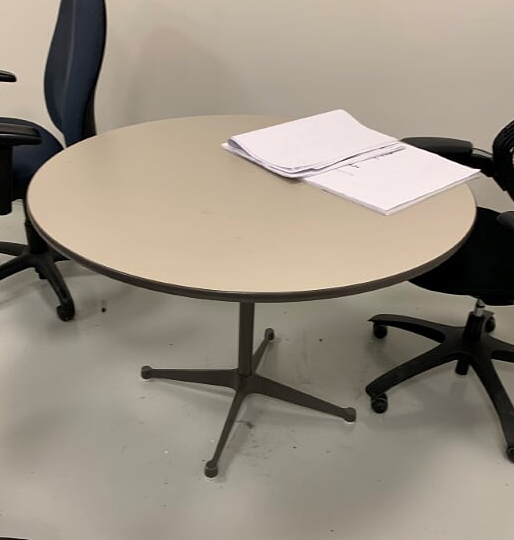 Herman Miller Eames Round Conference Table