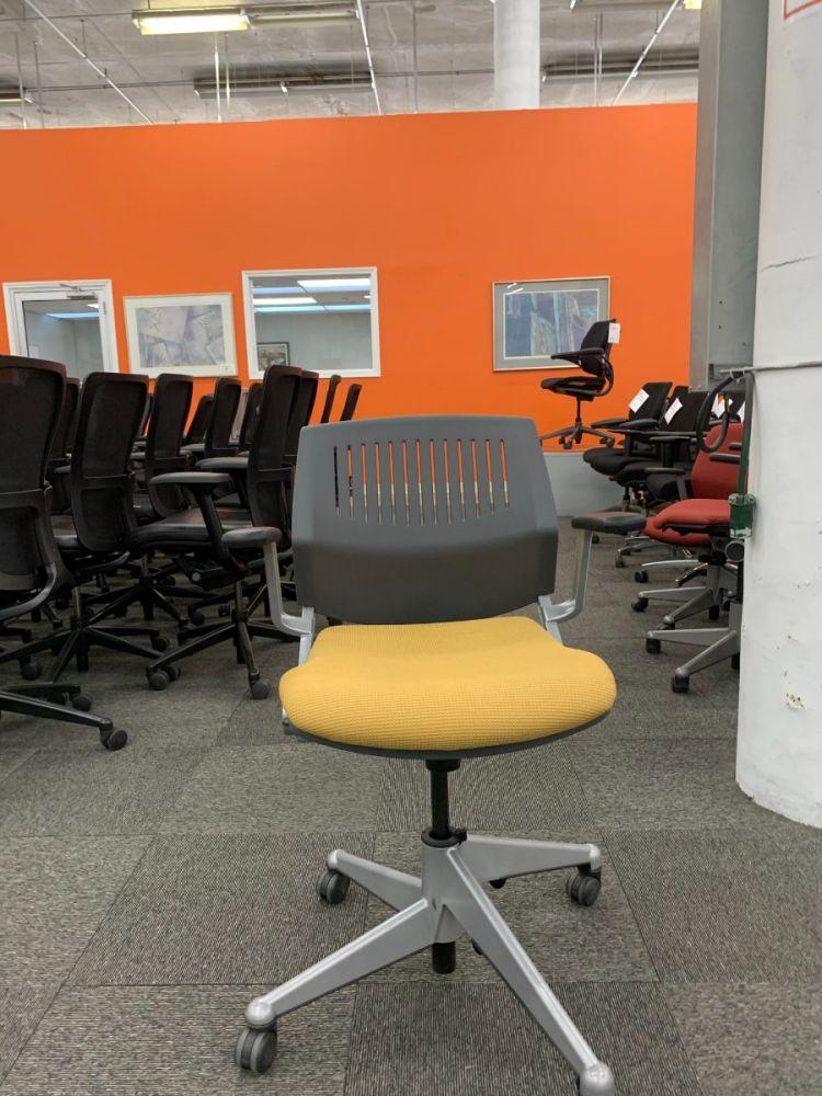 Steelcase Coalesse Nesting Chair (Light Orange)