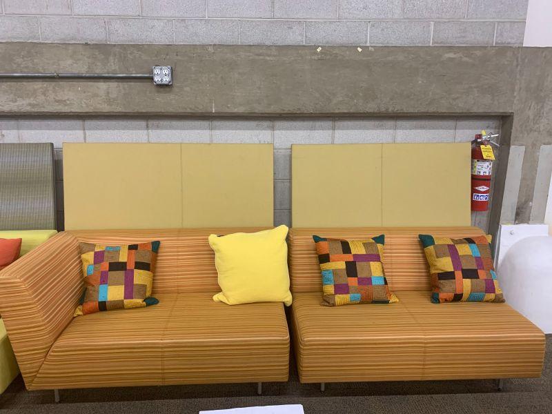 Metro Two-Piece Lounge Set (Orange Stripes) LH