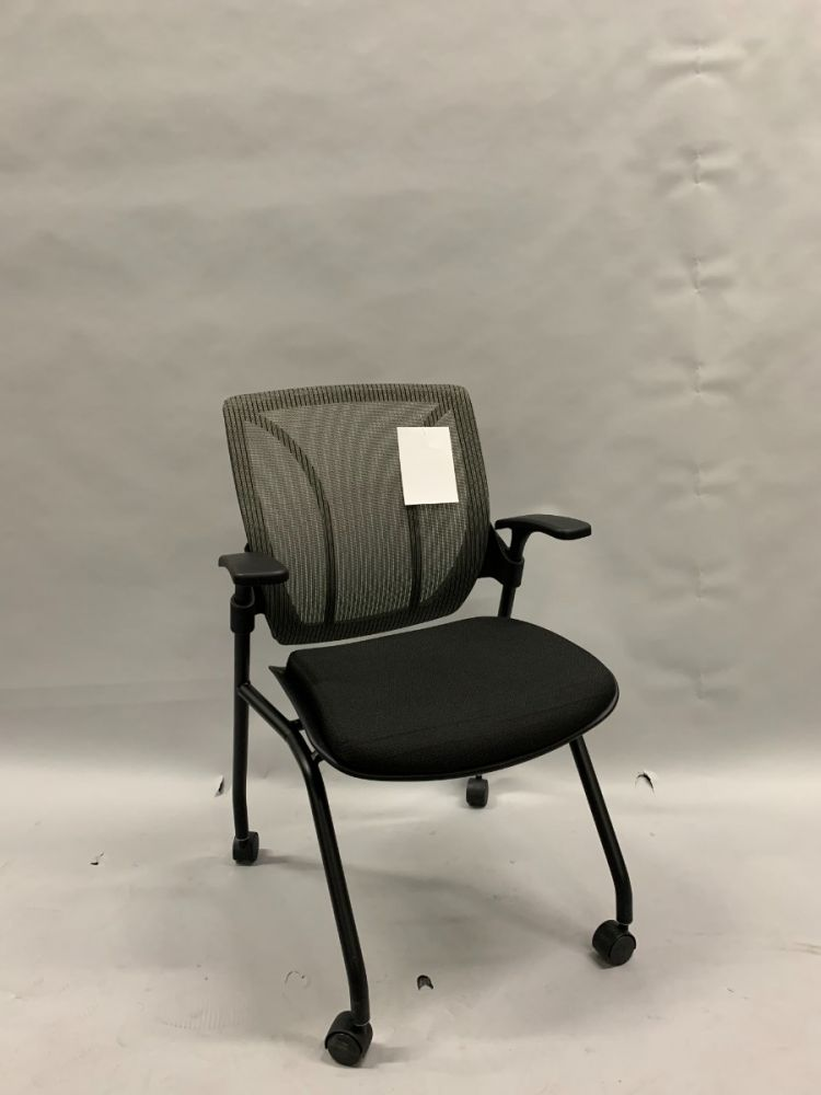 Global Roma Nesting Chair (Grey/Black)