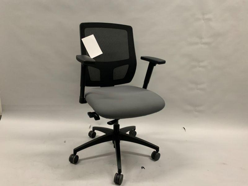 OFS Airus Task Chair (Black Mesh/Grey)