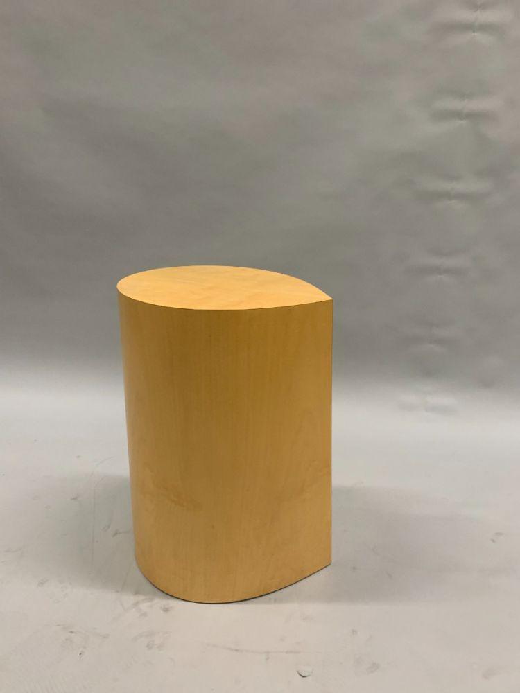 "16"" Dickman Leaf Teardrop Side Table (Maple)"
