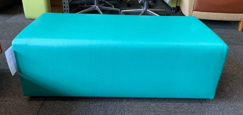 """47"""" Bench (Turquoise Leatherette)"""