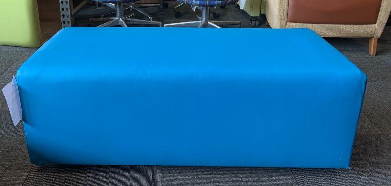 "47"" Bench (Aqua Blue Leatherette)"