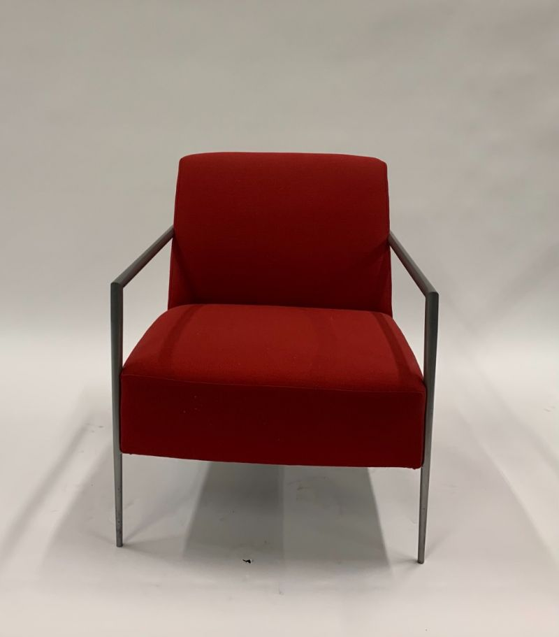 Pair of HBF Lounge Chairs (Red)