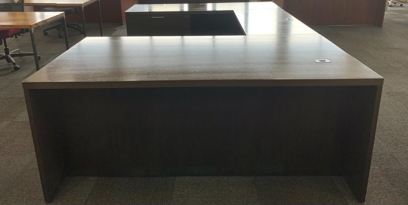 OFS U-Shaped U-Shaped Desk (Mocha) LH