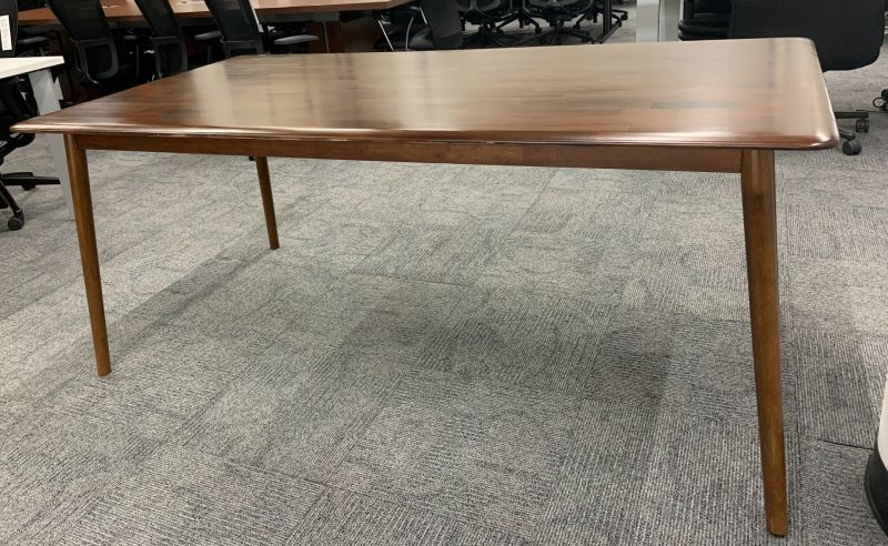 6' West Elm Conference Table (Cherry Plank)