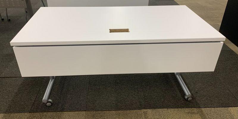 5' Rectangular Flip-Top Training Table