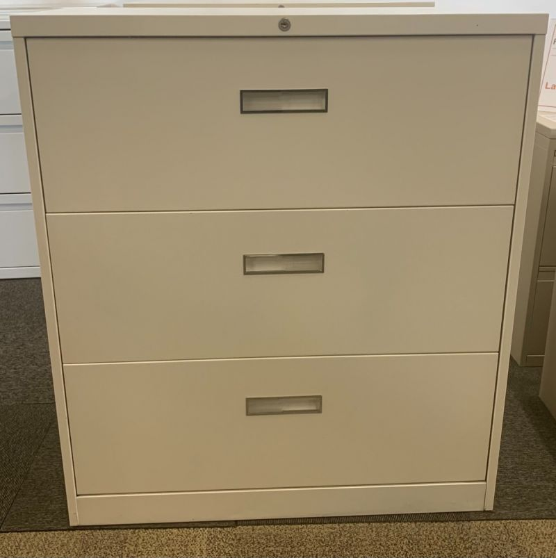 """Steelcase 3H 36""""W Lateral File (White)"""