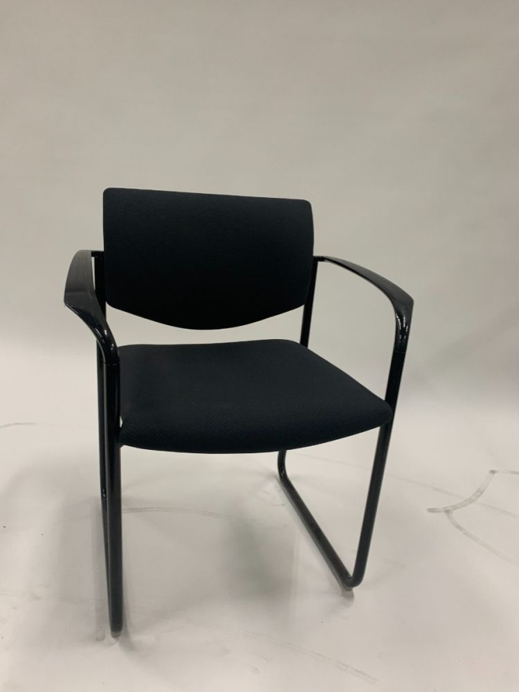 Steelcase Player Side Chair (Black)