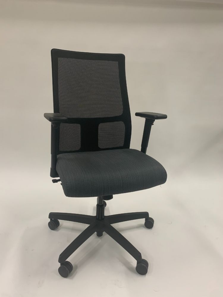 HON Ignition Task Chair (Black Mesh/Blue-Green)