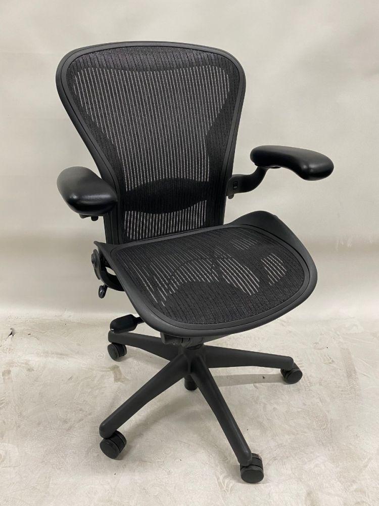 Herman Miller Aeron 'B' Work Chair (Carbon)