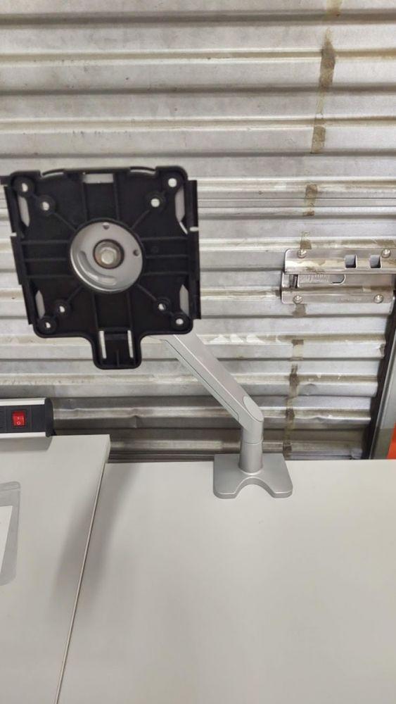 Workrite WA1000-C-S Williow Monitor Arm (Silver)